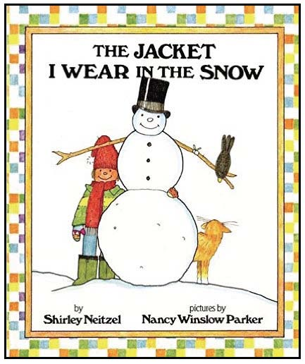 activities for the jacket i wear in the snow, crafts for winter, winter writing prompts, activities for shirley neitzels books, winter clothing activities,