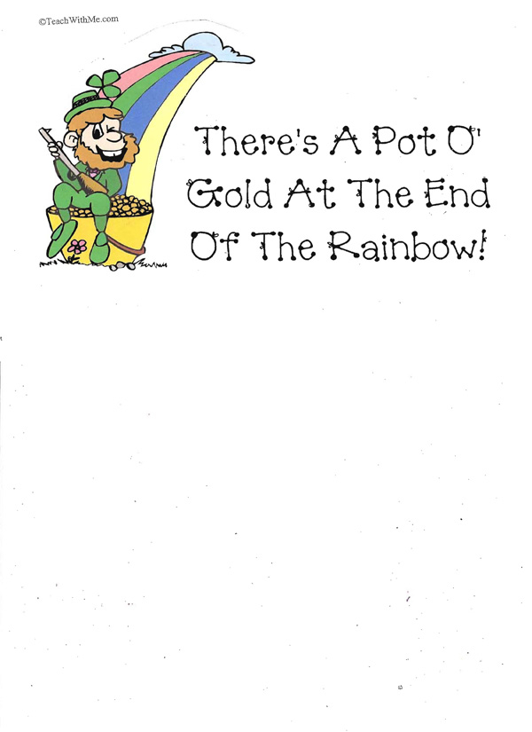 Booklet: There's A Pot O' Gold At The End Of The Rainbow
