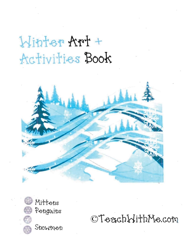 Winter Art + Activity Book