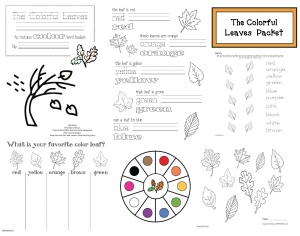 The Colorful Leaves Packet
