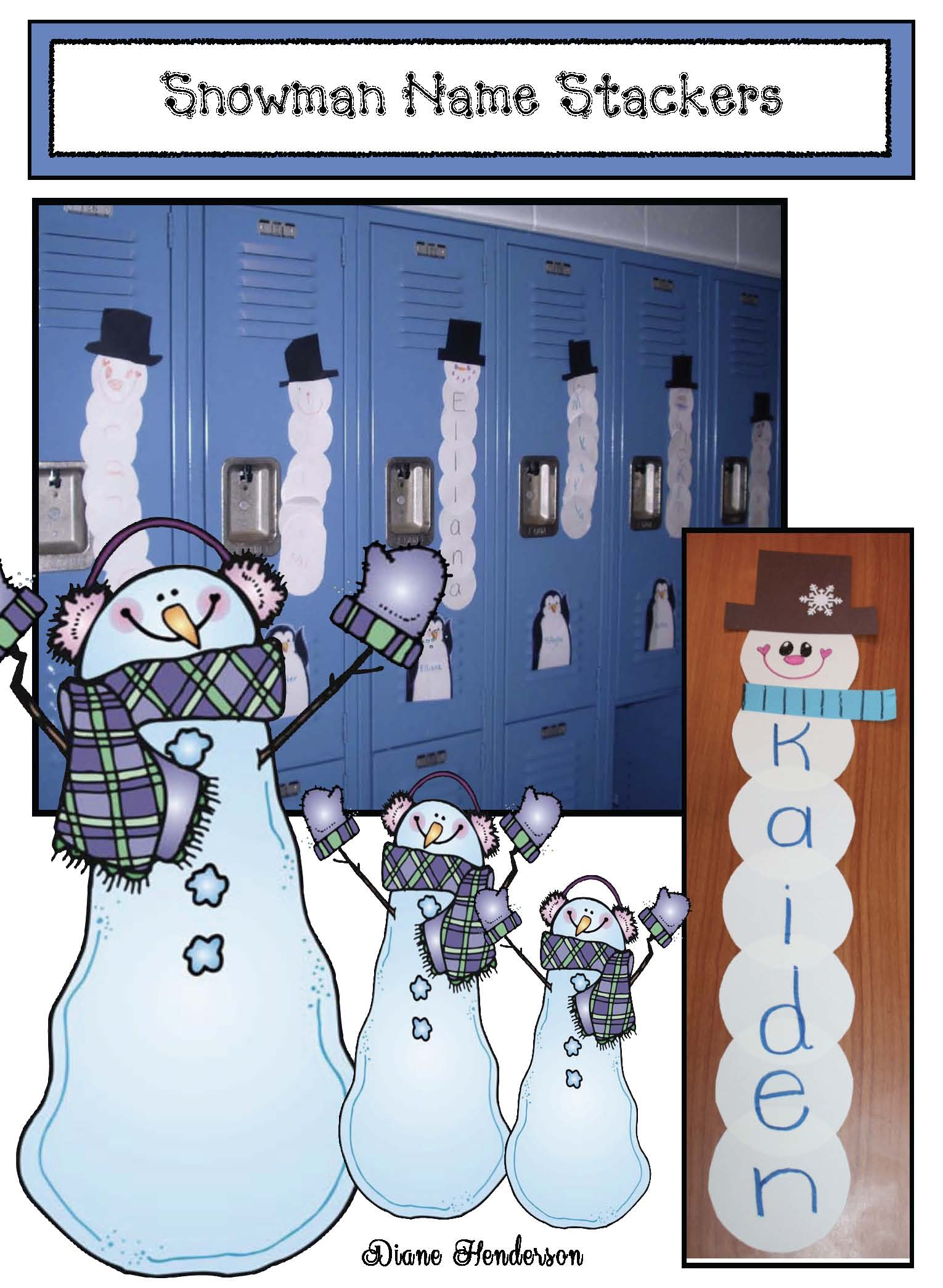 Cover Snowman Stackers