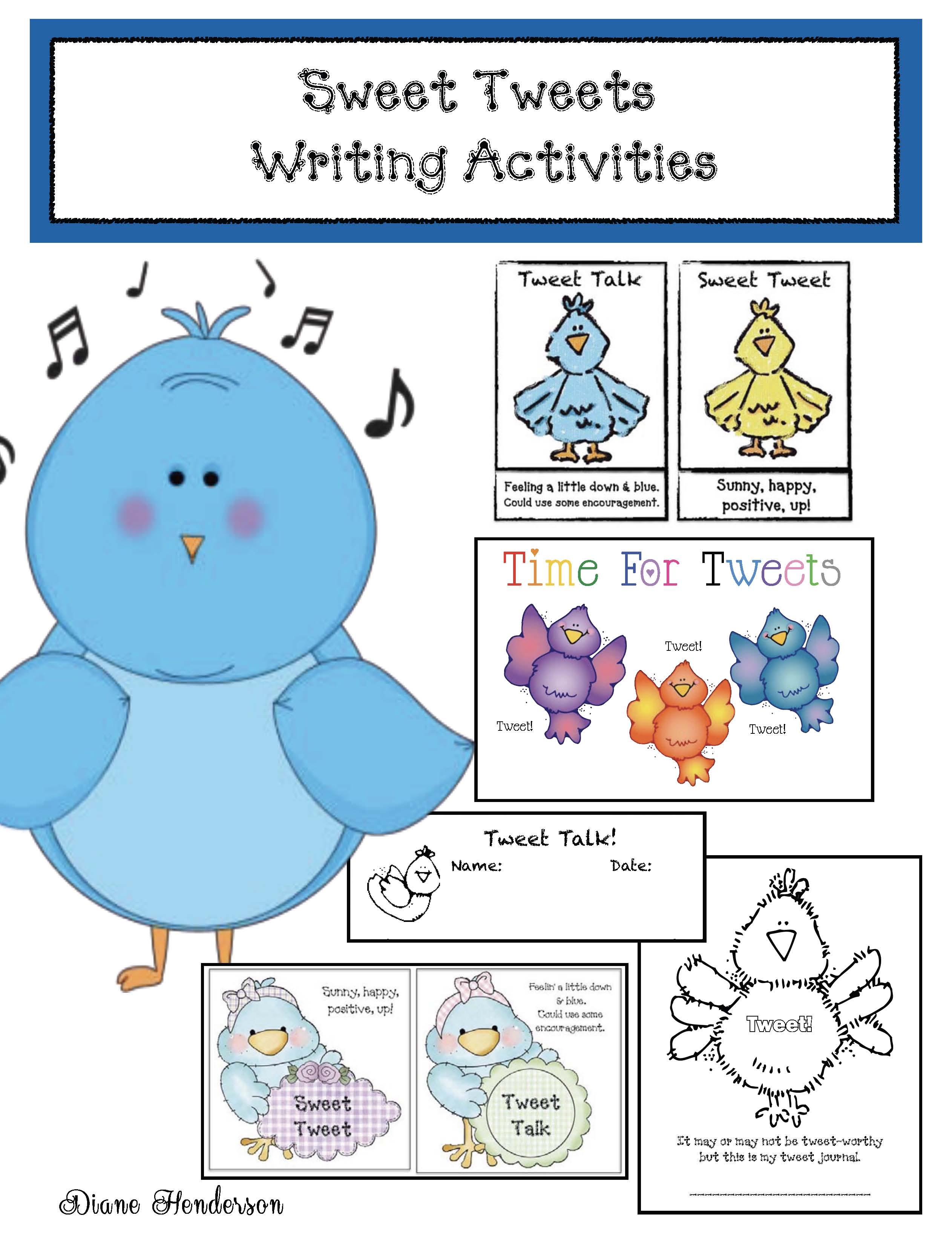 bucket filling activities, tweet board, something to tweet about writing prompt, writing prompt for back to school, classroom management