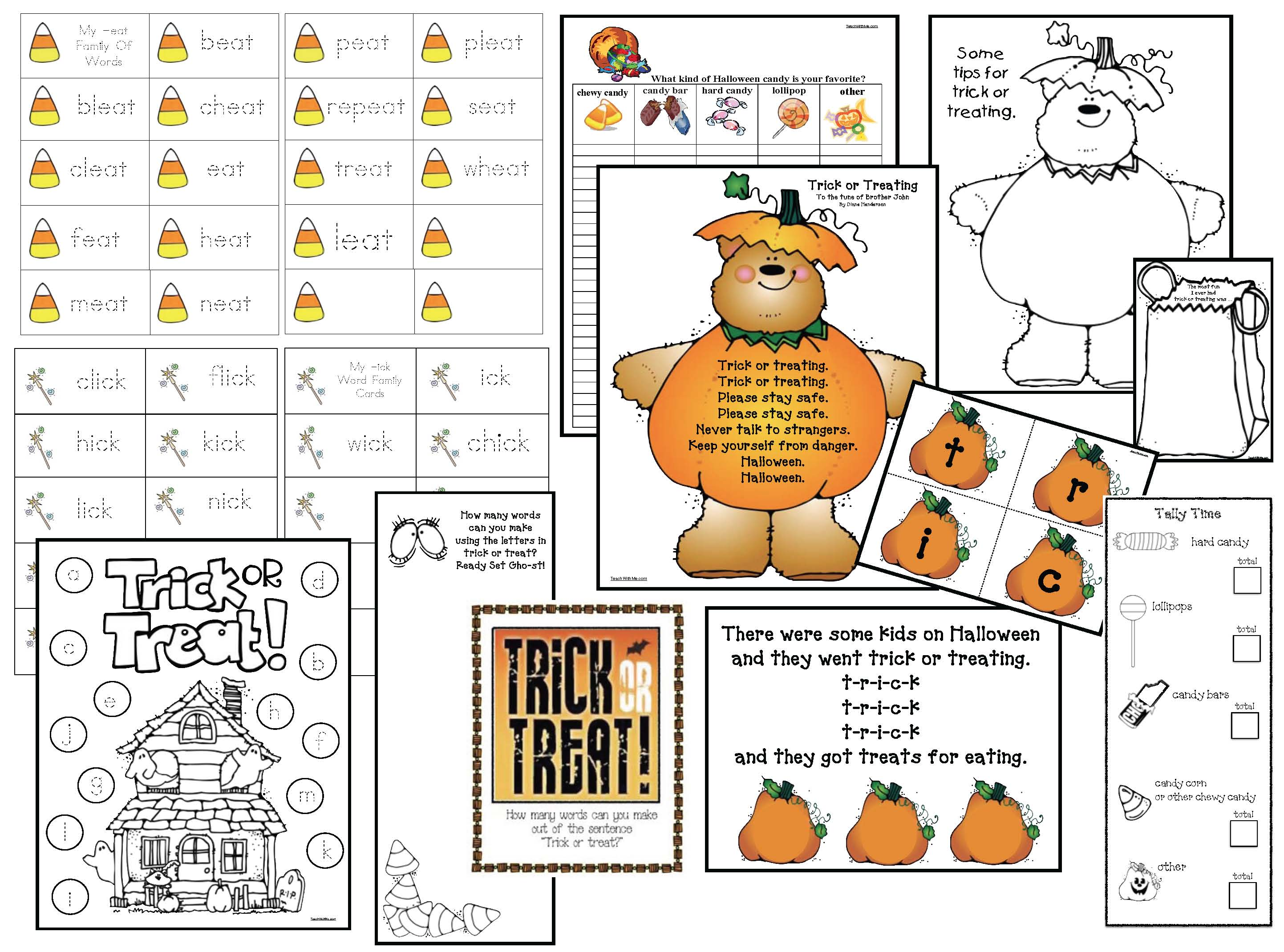 hallloween games, halloween crafts, halloween activities, halloween worksheets, halloween writing prompts, halloween games, shape activities, I spy worksheets