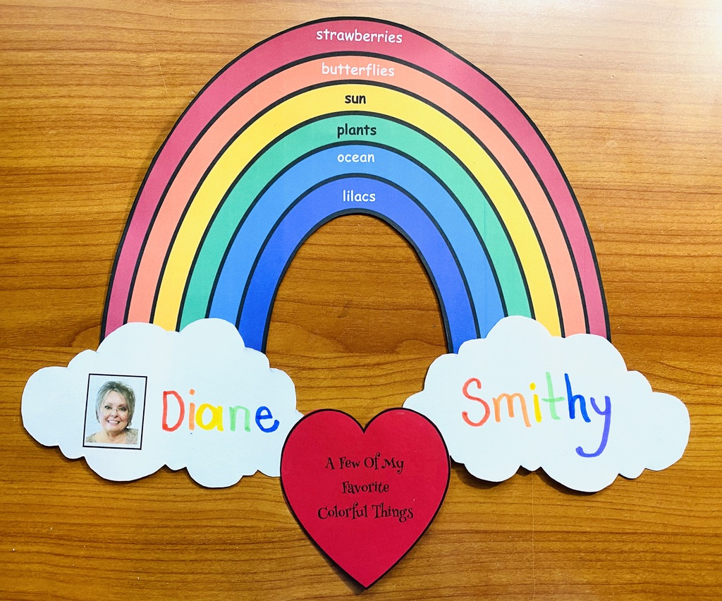 back to school activities, back to school crafts, back to school bulletin boards, icebreakers for back to school, getting to know you activities, rainbow activities,