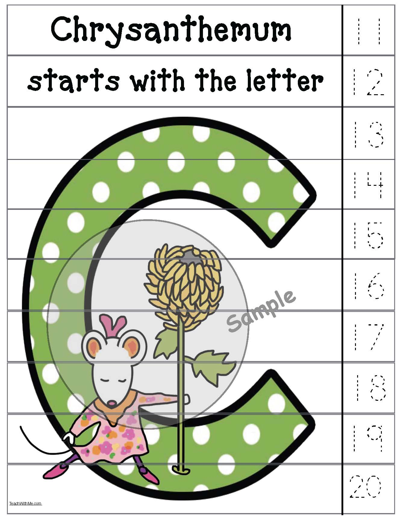 bucket filling ideas, bucket filling ideas, chrysanthemum activities, bucket filling activities, chrysanthemum crafts, skip counting by 10s, number puzzles, alphabet crafts, alphabet puzzles, alphabet games, alphabet centers