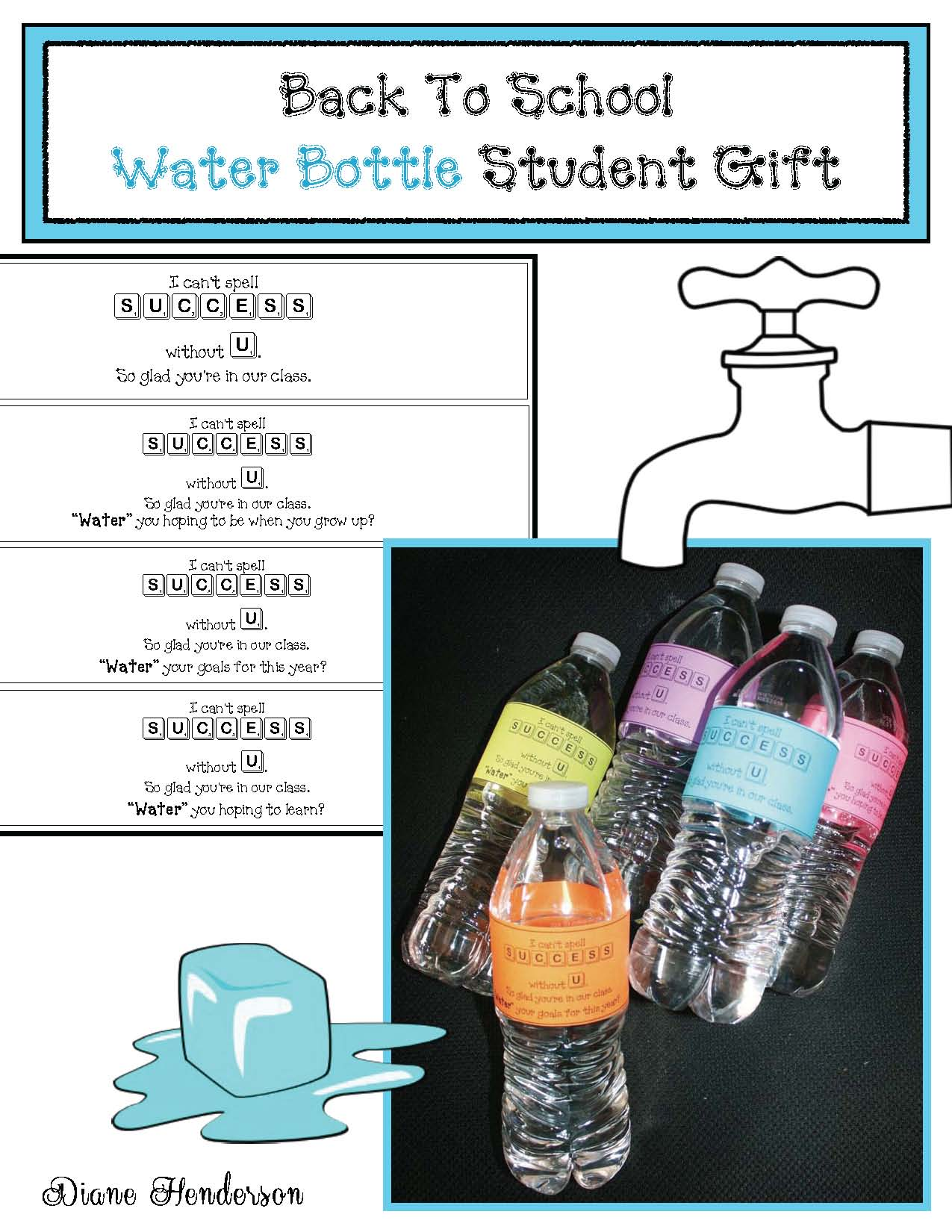 icebreakers, back to school, back to school gifts, back to school treats, water activities, water poems, words for water, adjective activities,
