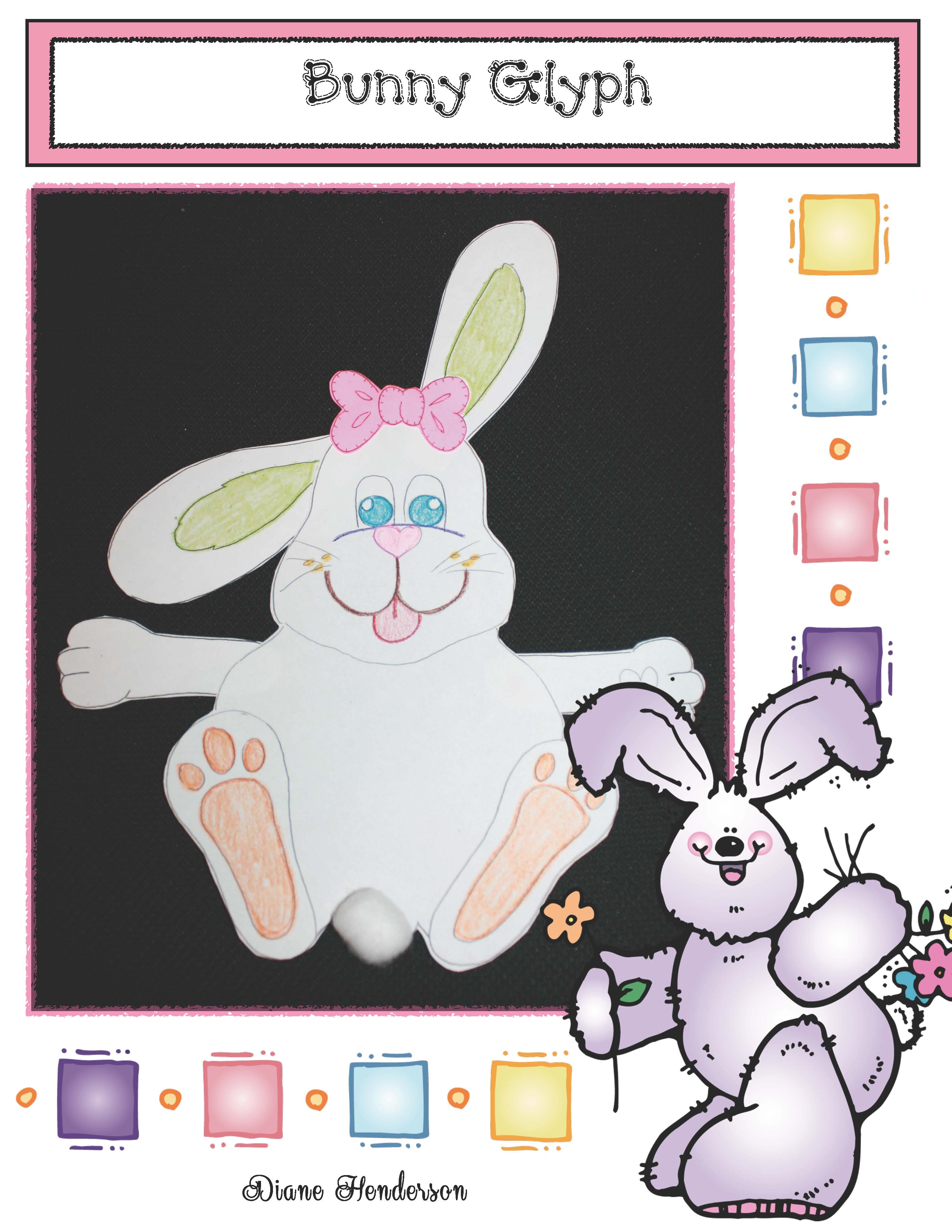 bunny glyph, spring glyphs, glyphs, egg glyph, Easter crafts, easter activities, spring bulletin board ideas, venn diagram activities, bunny crafts, common core activities for spring, spring games, venn friends