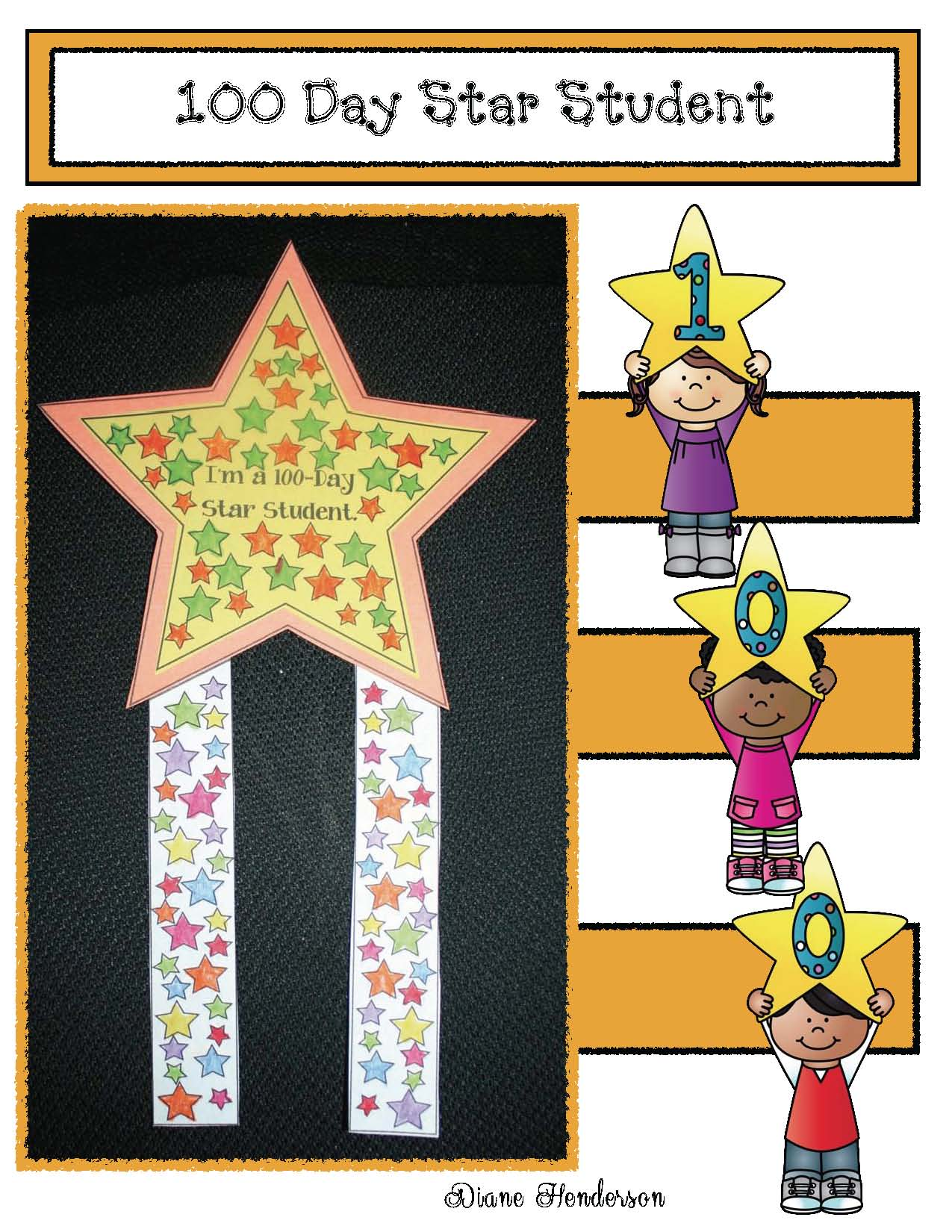 skip counting activities, 100 day activities, 100 day crafts, fun ways to count to 100, 100 day crown