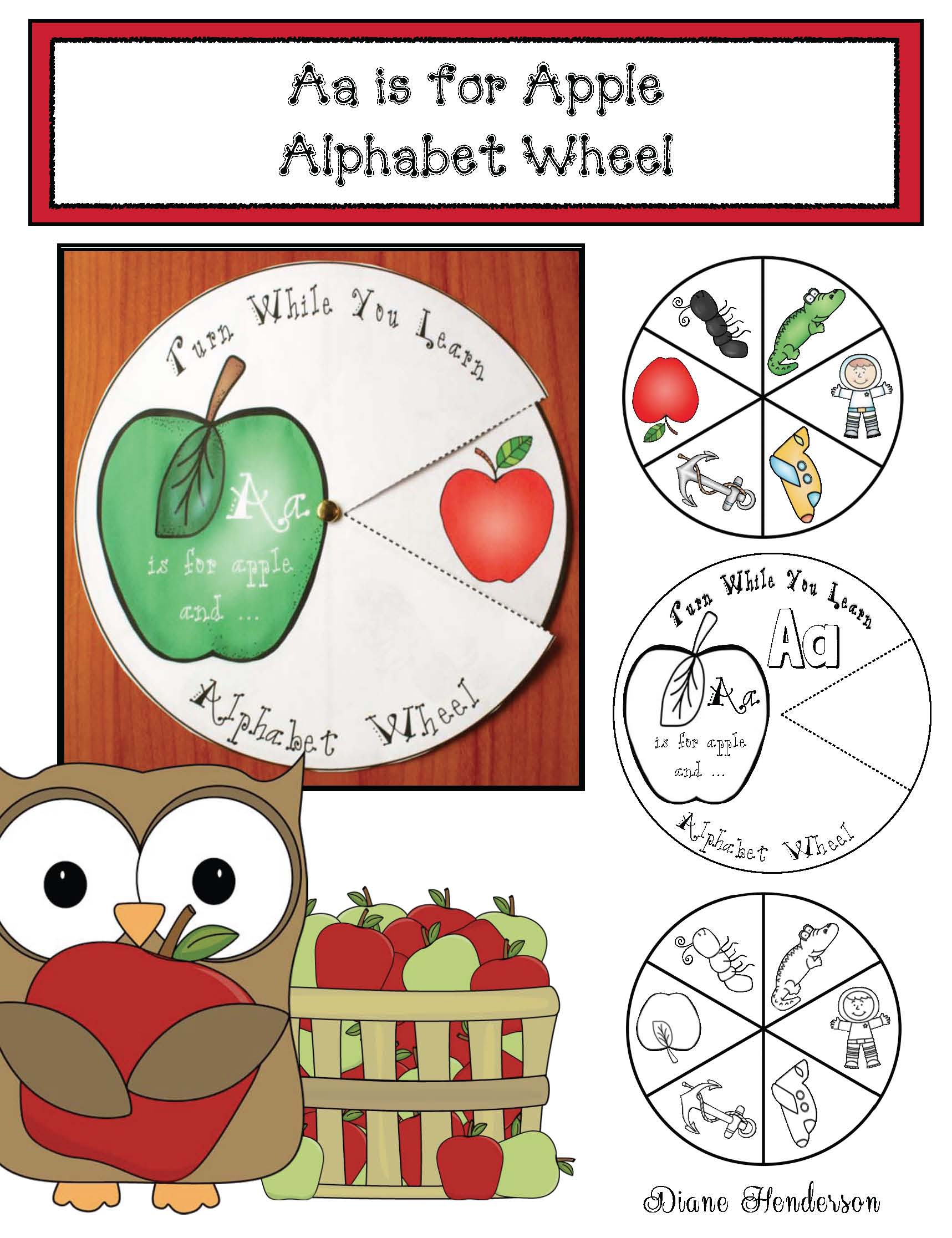 alphabet activities, alphabet crafts, alphabet centers, balphabet wheels, uilding vocabulary activities