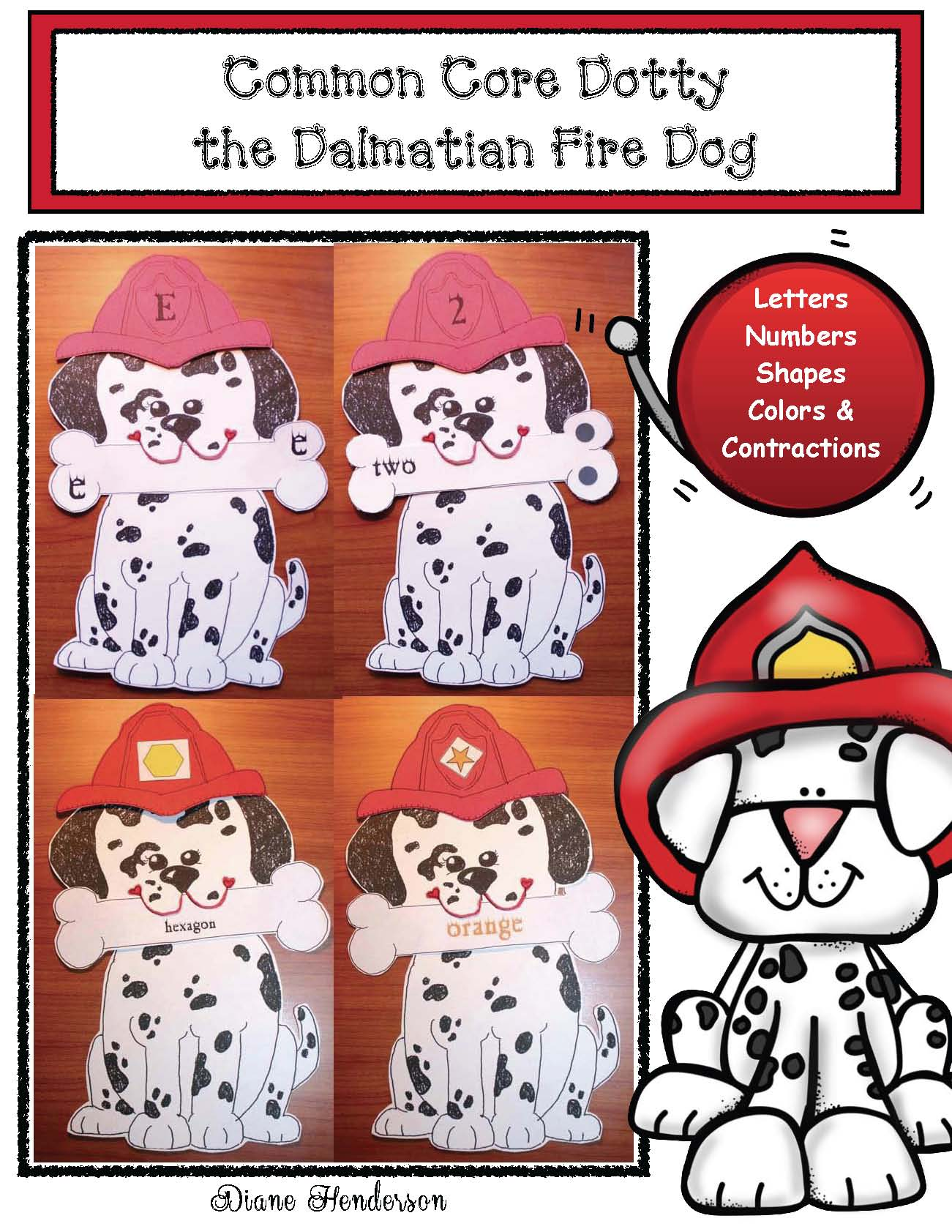 cover Dotty the CC Dalmatian