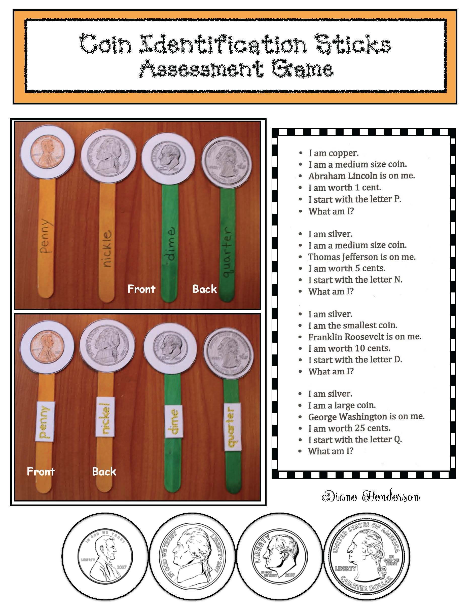 cover coin sticks
