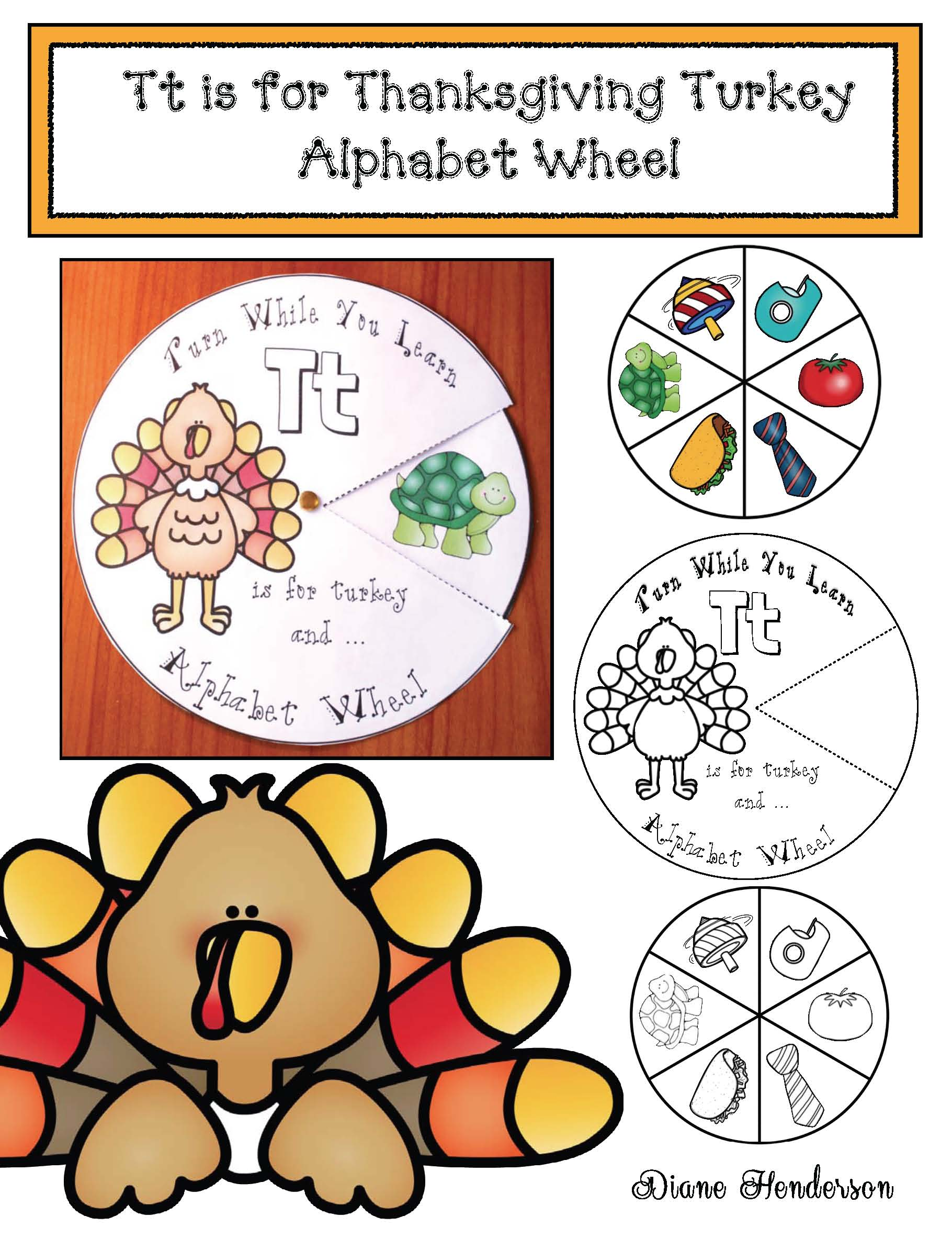 alphabet activities, alphabet crafts, alphabet wheels, vocabulary building activities,