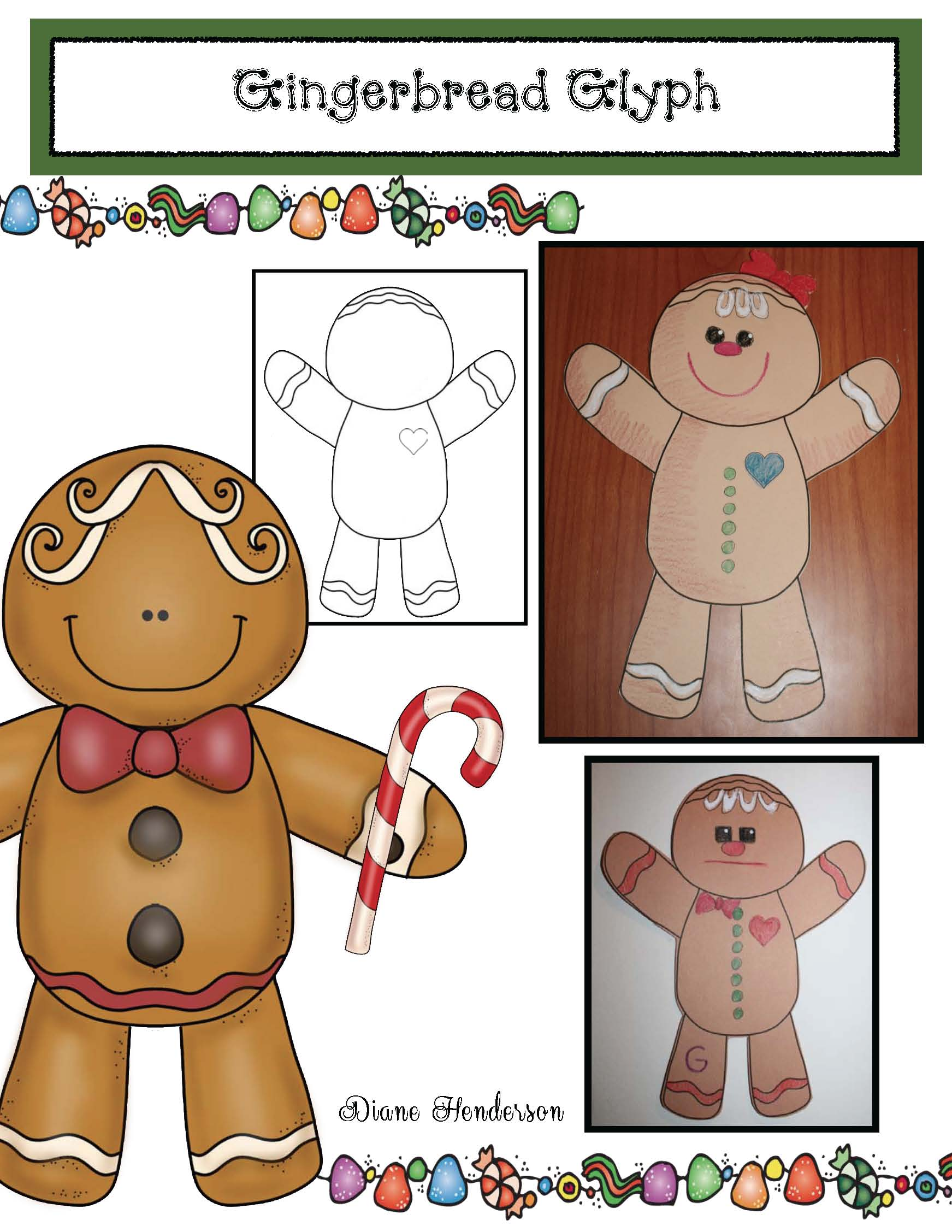 gingerbread crafts, gingerbread games, gingerbread activities, analog and digital time activities, time to the hour and half hour activities, telling time activities, 2D shape games, 2D shape crafts, 2D shape activities