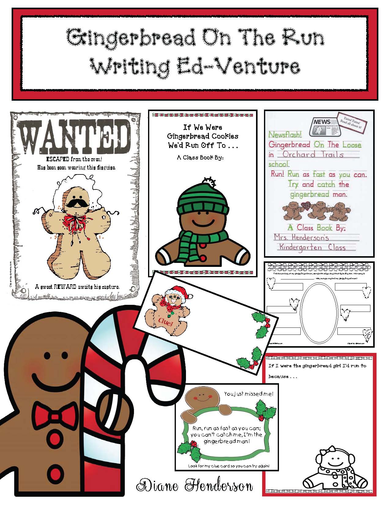 gingerbread activities, gingerbread crafts, gingerbread games, gingerbread writing prompts, common core gingerbread, color activities,  color games
