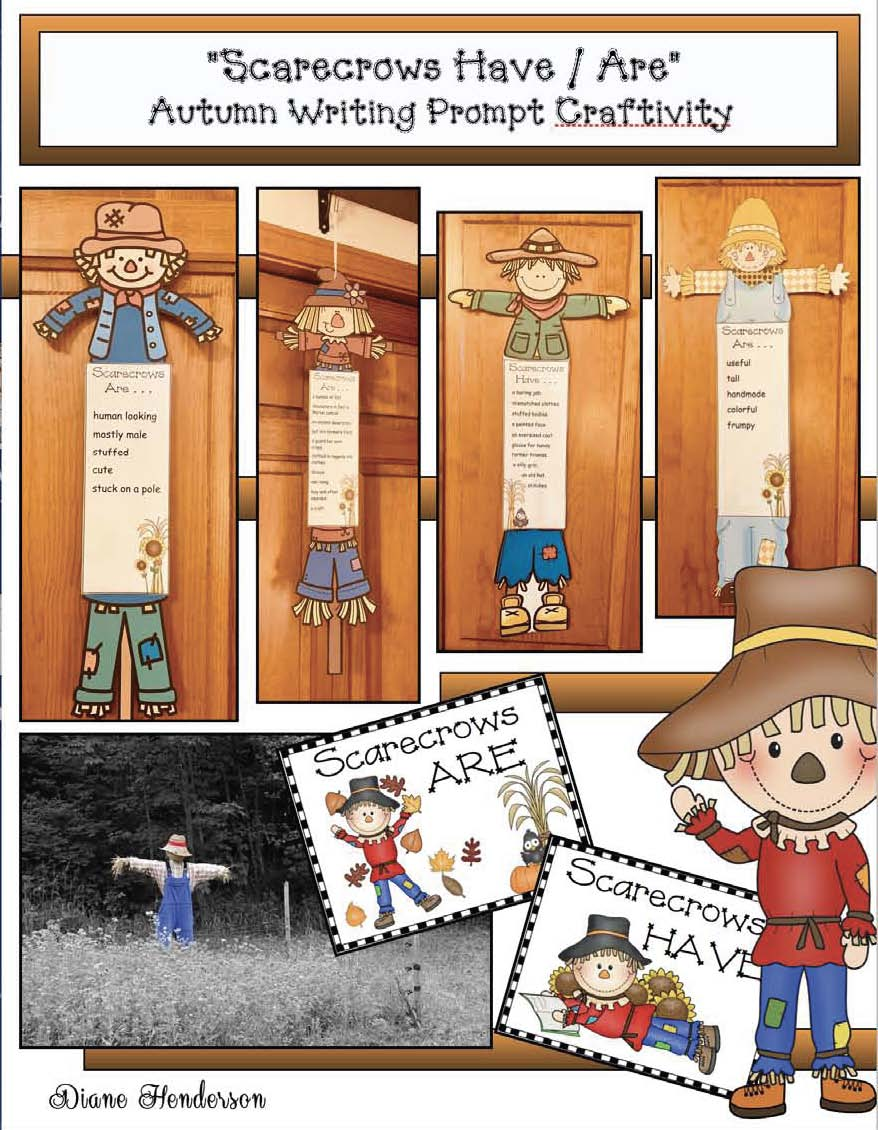 scarecrow crafts, craft ideas for fall, fall bulletin boards, scarecrow activities, writing prompts for fall