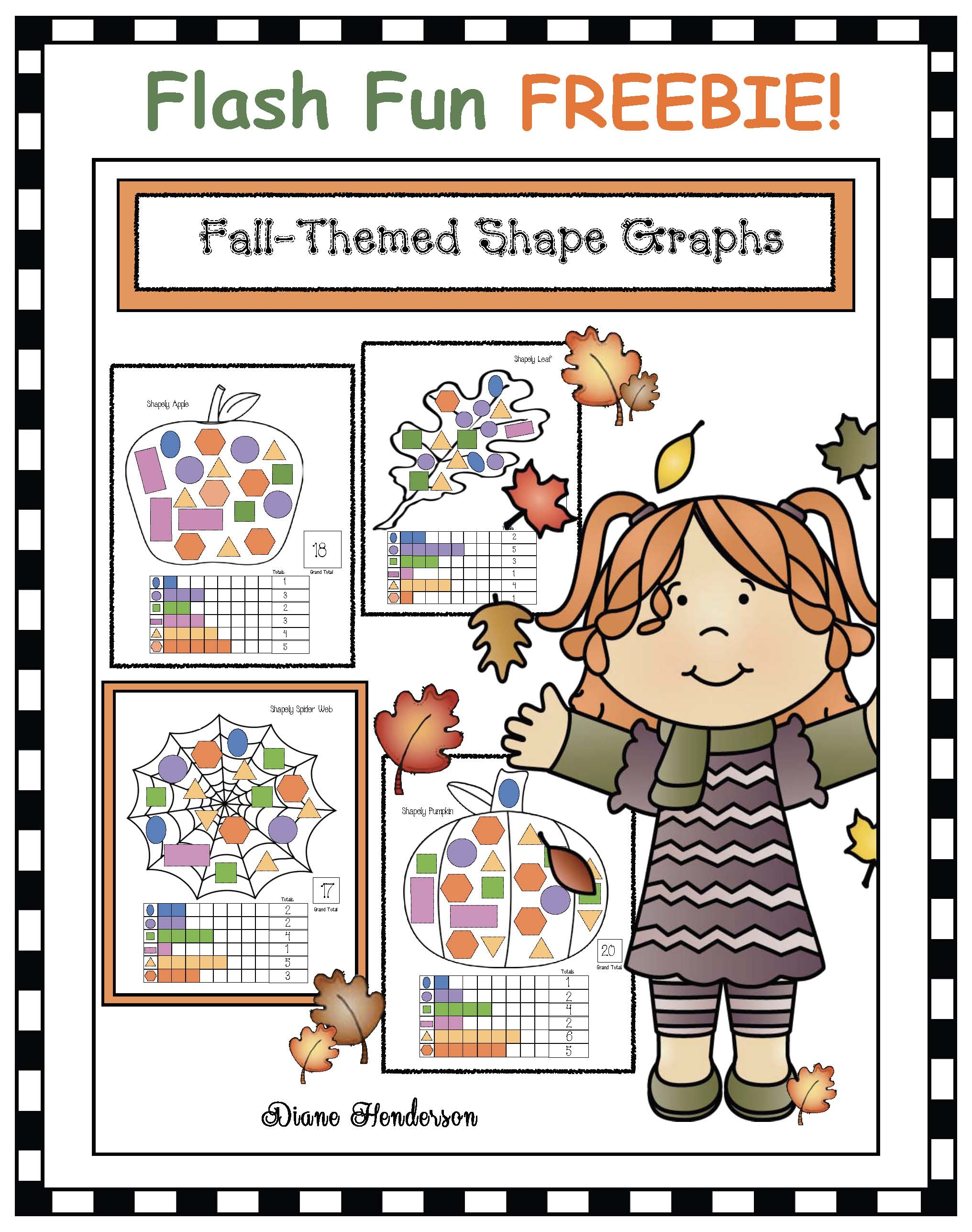 fall graphing, halloween games, halloween activities, shape activities, halloween shape activities, shape crafts, hexagon activities, shape games, halloween graphing activities, 2D shape centers,haunted house craft