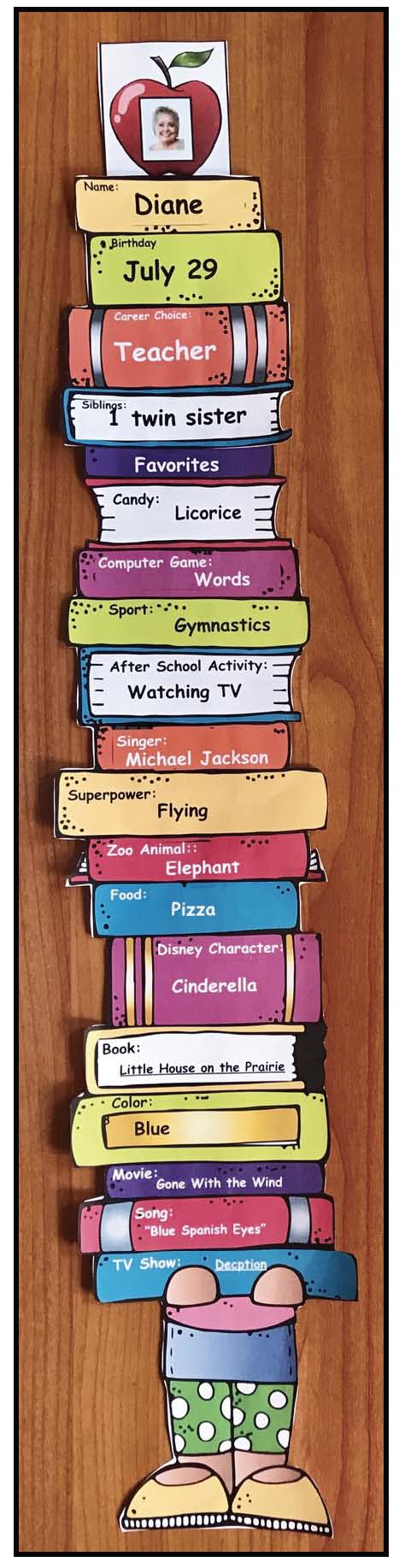 icebreakers for back to school, back to school activities, first day activities for school, back to school bulletin boards, idiom activities, no bullying activities, getting to know you activities