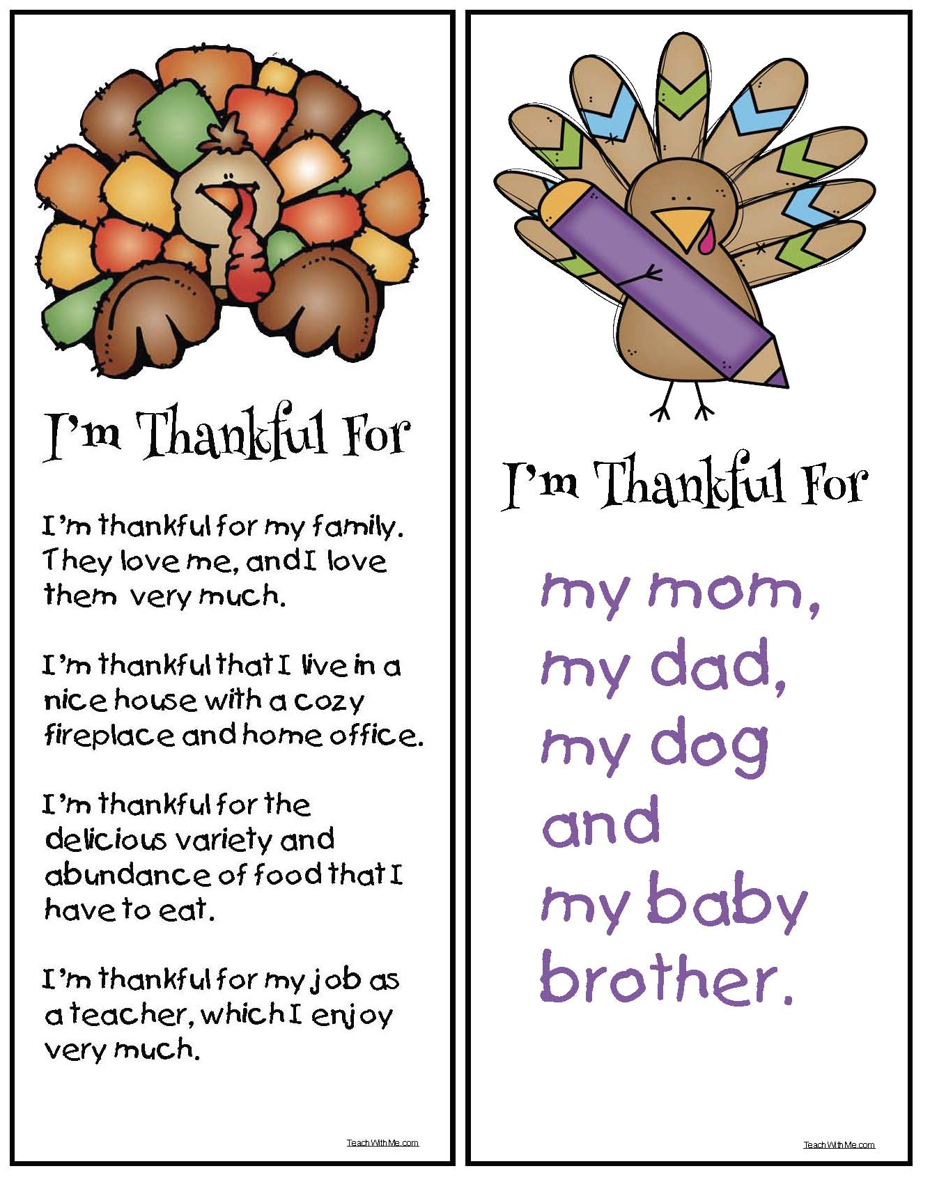 turkey crafts, thanksgiving crafts, turkey activities, thanksgiving activities, november writing prompts, i'm thankful for writing prompts, november bulletin boards