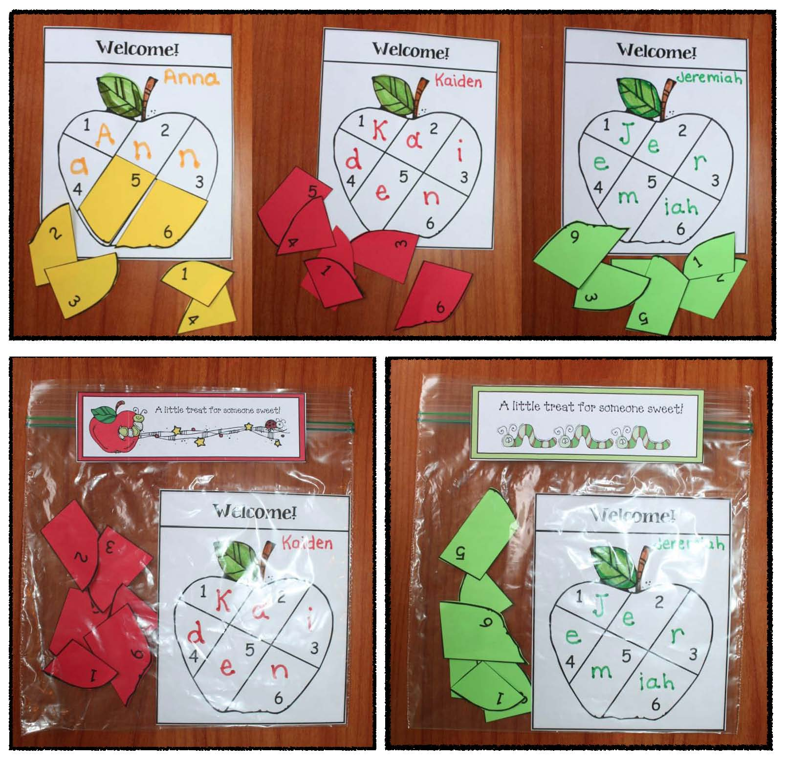 apple activities, apple games, apple crafts, apple centers, back to school treat bags,
