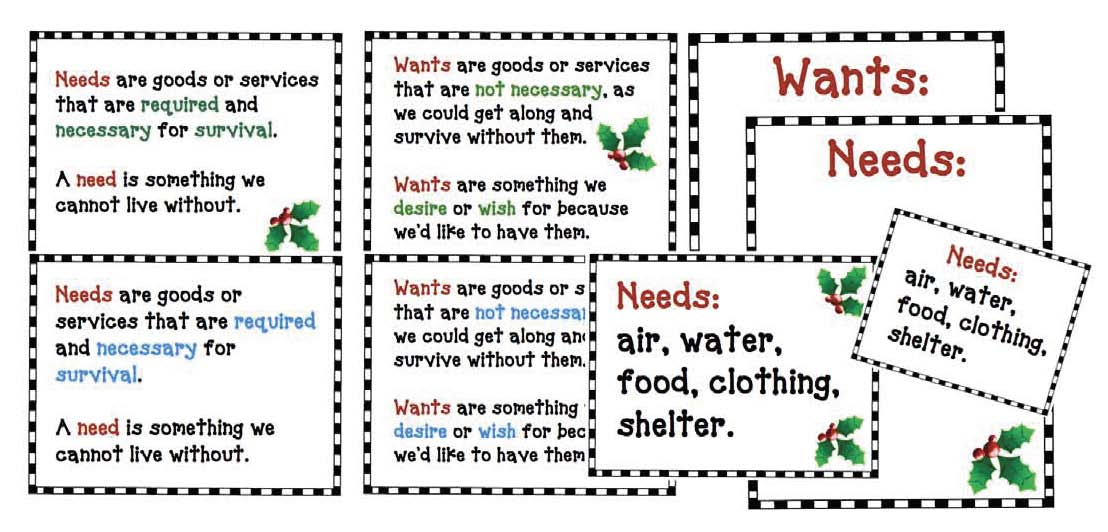 needs and wants activities, needs and wants crafts, needs and wants centers, needs and wants bulletin board, needs and wants posters, needs and wants list, needs and wants definition, needs and wants emergent reader