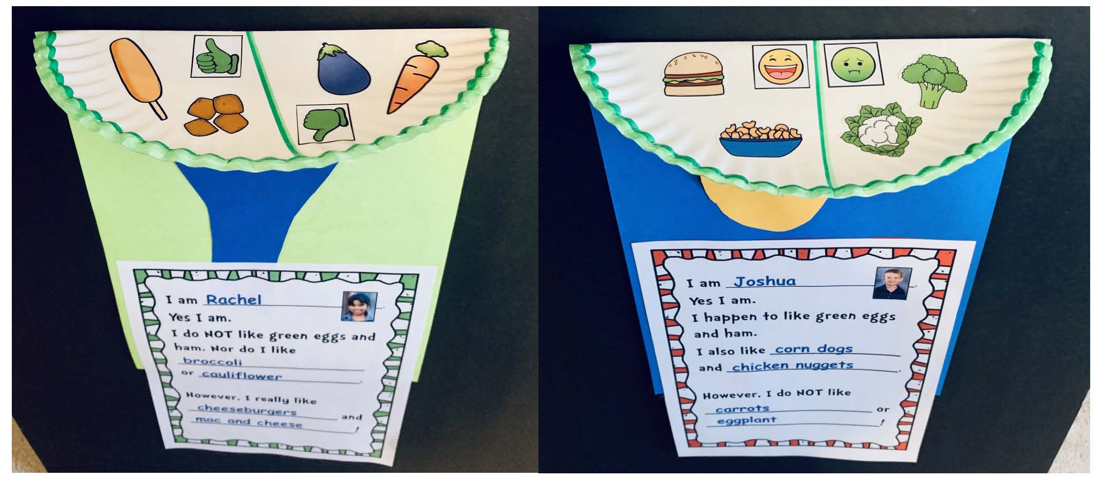 paper plate green eggs and ham craft, green eggs and ham writing prompt worksheet, green eggs and ham graph, dr. seuss activities, dr. seuss crafts, green eggs and ham activities, green eggs and ham crafts, march writing prompts, read across america bulletin boards, seuss bulletin boards, seuss writing prompts