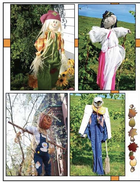 photographs of real scarecrows