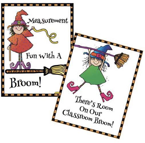 room on a broom measurement posters Activities for Room on the Broom, Halloween activities, Measurement activities for fall, small group activities for Halloween