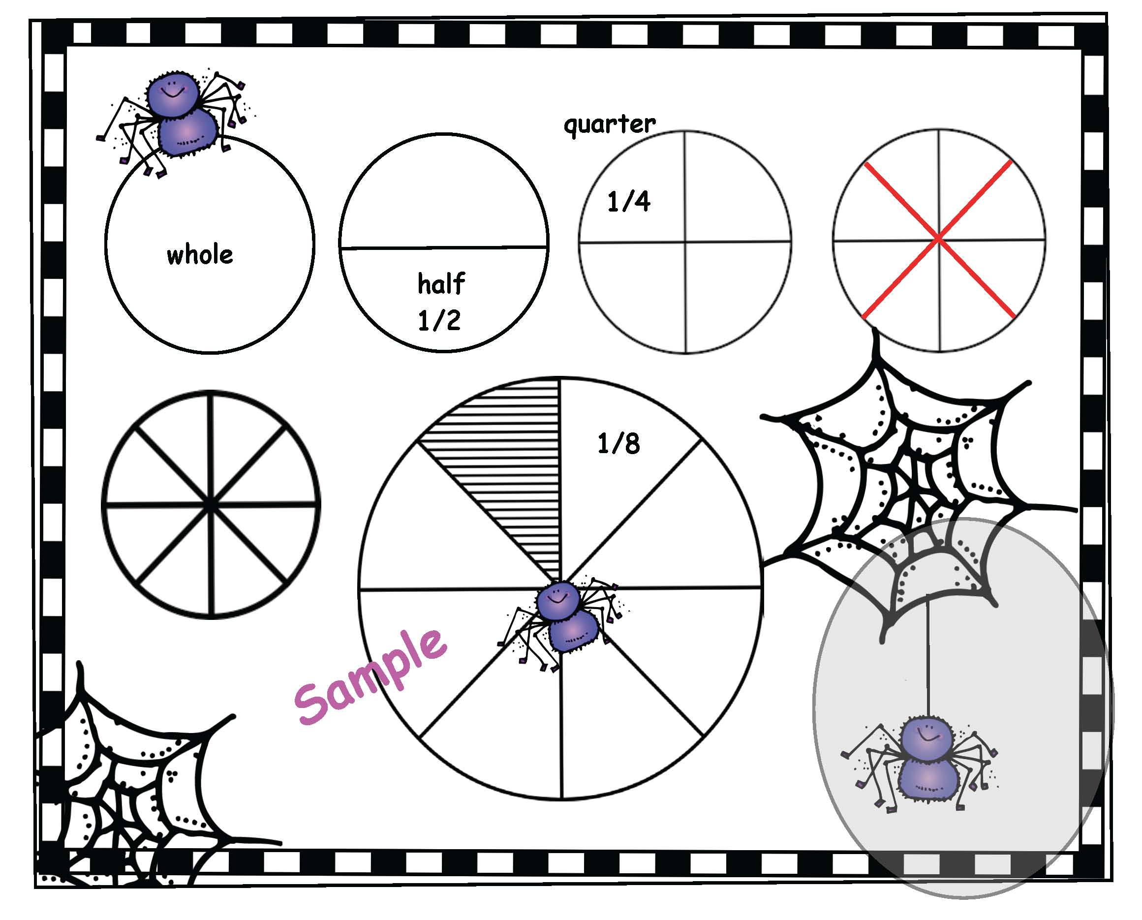 smath centers, math crafts, spider centers, spider activities, spider crafts, october bulletin board ideas. spider bulletin board ideas