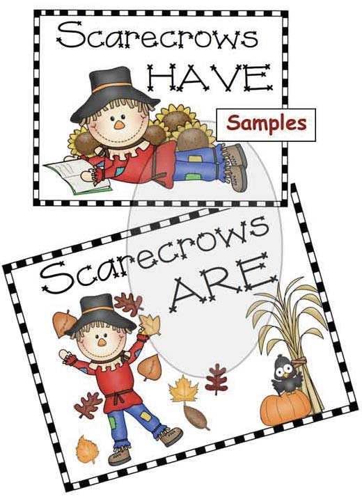 scarecrow activities, scarecrow crafts, Venn diagram activities, fall crafts, fall bulletin boards, fall writing prompt ideas