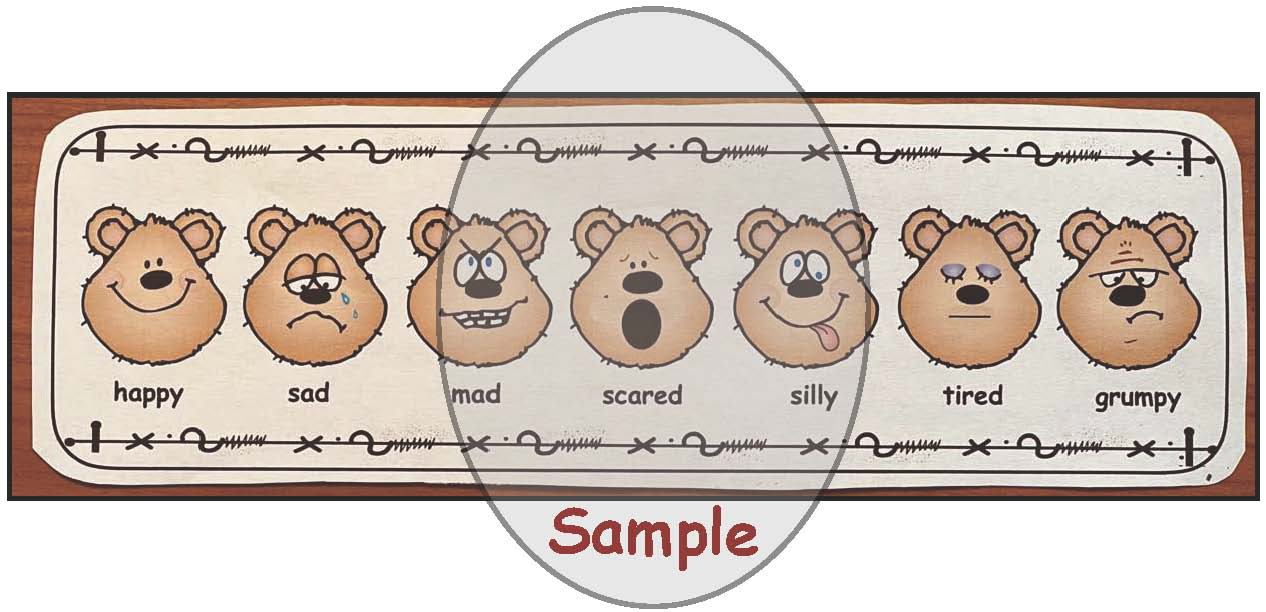 share bears, Boy feelings wheels showing 5 feelings, feelings crafts, feel wheel, dealing with feelings, emotions, teaching about feelings, teaching about emotions, feelings posters, feelings activities, graphing how you feel, classroom management