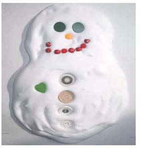 frosted cookie Christmas ornament, Christmas crafts with kids, shaving cream activities, shaving cream crafts, art with shaving cream, ideas for shaving cream, shaving cream in the classroom, cookie ornaments, christmas crafts, christmas activities, snowman crafts, snowman activities, snowman art, winter bulletin boards, december bulletin boards, january bullein boards, snowman bulletin boards