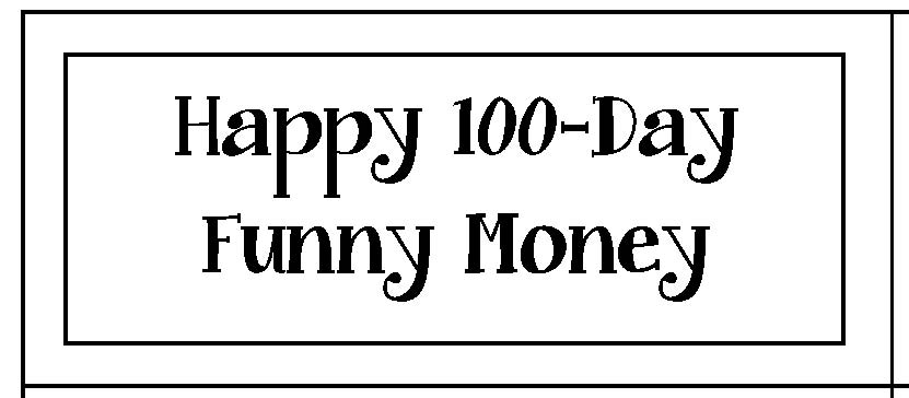 100 day activities, ideas for 100 day, 100 dollar bill pattern, 100 day bookmark, 100 dollar bill bookmark, template for a 100 dollar bill, 100 day crafts, 100 day centers, 100 day games, money activities for 100 day, penny activities for 100 day, counting to 100, skip counting activities, 100 dollar bill pattern, 100 day bulletin boards, penny activities, nickel activities, dime activities, quarter activities, money lessons, common core state standard lessons for 100 day, common core 100 day,