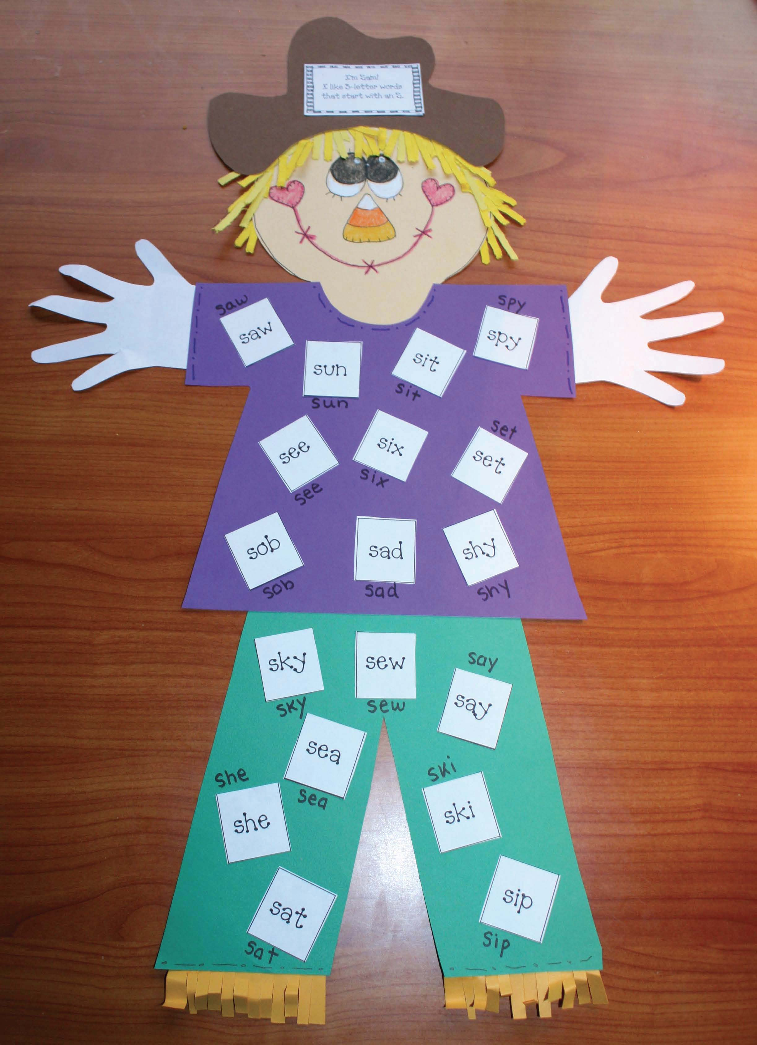 scarecrow crafts, scarecrow activities, common core scarecrows, alphabet activities, blends, list of contractions, list of compound words, list of words that rhyme with scare, list of words that rhyme with crow, odd and even activities, vowel activities, scarecrow crafts, scarecrow shapes, common core scarecrows, shape crafts, shape games, alphabet games, odd and even activities, common core scarecrows