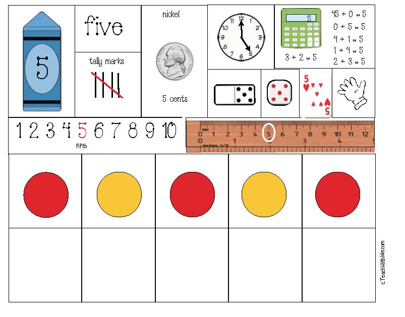 number puzzles, number posters, number anchor charts