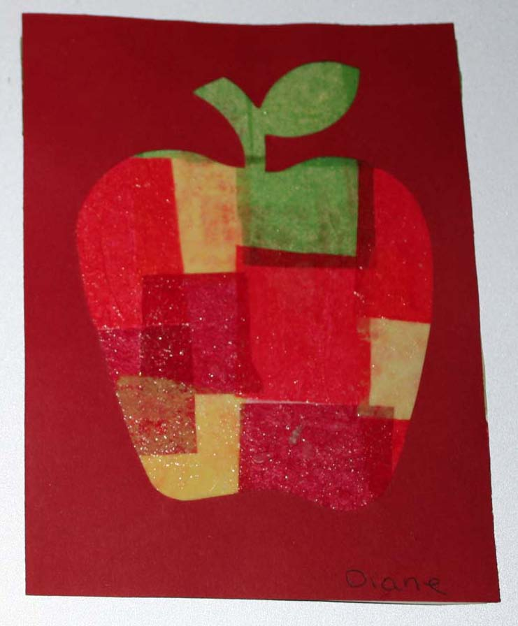 apple activities, apple crafts, apple arts and crafts, tissue paper apples, stained glass apples, melted crayon apples, wax paper apples, apple lessons, apple decorations, apple songs, apple poems, apple bullein boards, september bulletin boards, small medium and large activities, colors of apples activties, apple science, apple centers