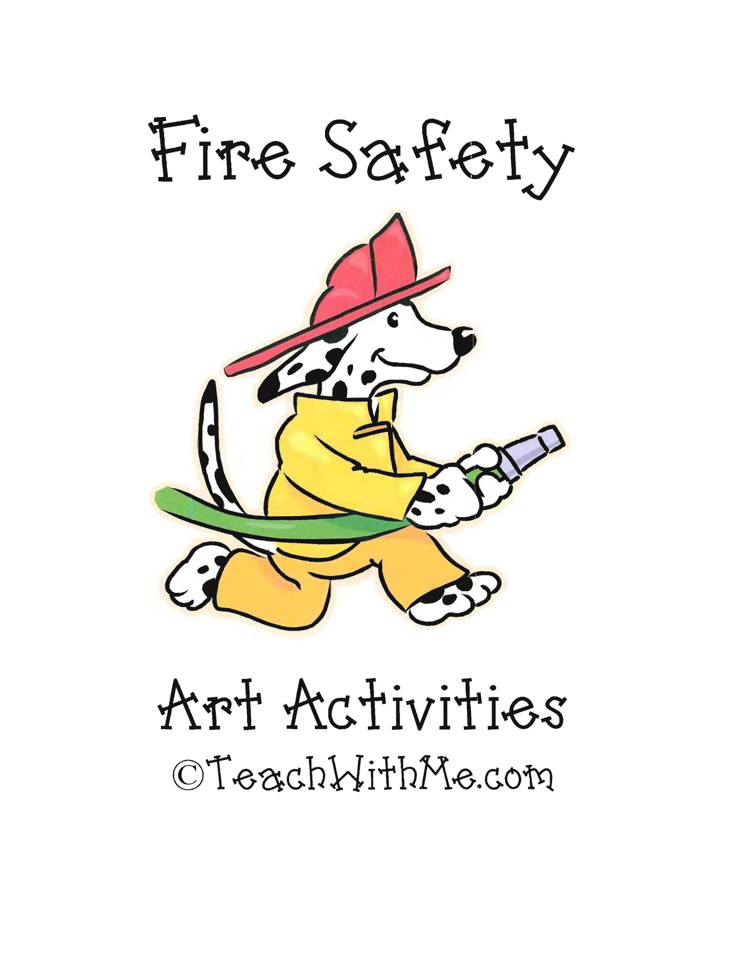 fire safety ideas, fire safety lessons, fire safety activities, arts and crafts for fire safety, fire safety crafts, common core fire safety, bibliography of fire safety books, fire safety bulletin board ideas, a list of fire safety books,