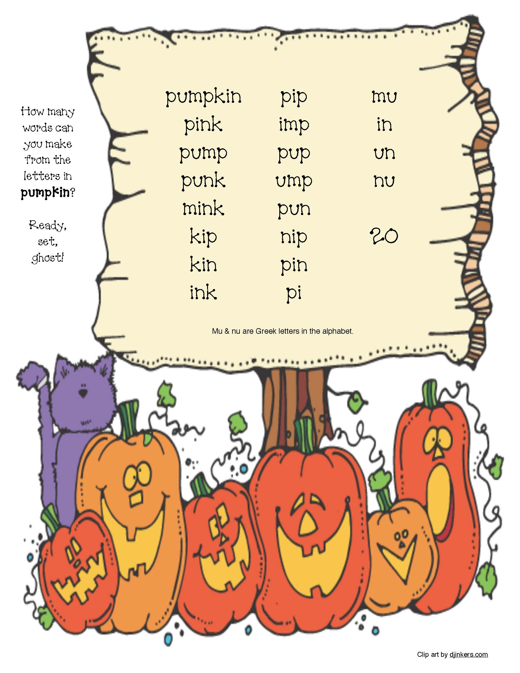 how many words can you make with pumpkin, a mustache word scramble, Halloween games, halloween activities, halloween coloring pages, halloween puzzles, halloween word games, halloween dice games, 100 chart games, 100 chart activities, hidden pictures in a 100 grid, pumpkin activities, pumpkin games, end punctuation activities, capitalization activities, spelling games, spelling activities, halloween writing prompts,
