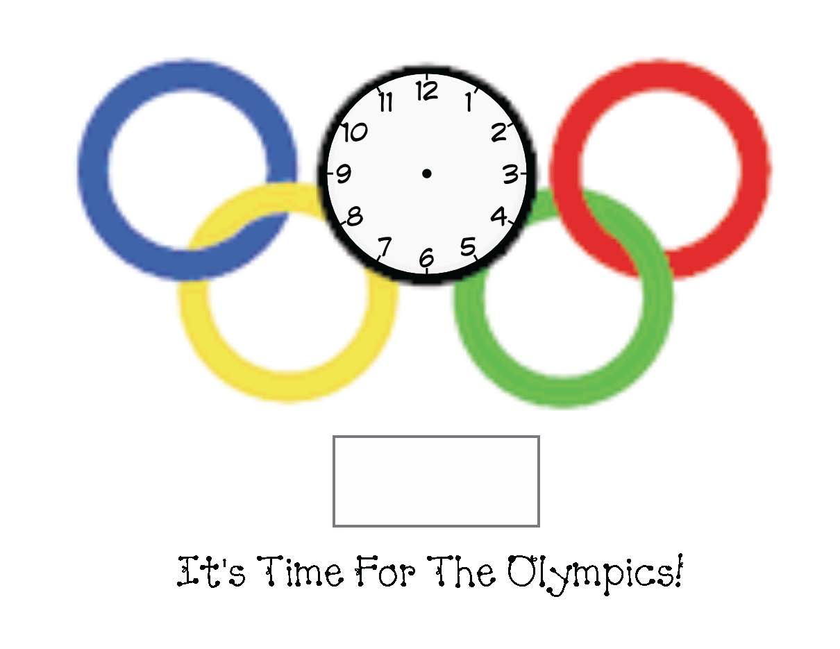 olympic activities, winter olympic activitiestelling time activities, 1.MD.3, common core state standards for 1st grade math, summer olympic activities, olympic flag crafts, olympic crafts, information about the olympics for kids, Olympic facts for kids, olympic alphabet cards, olympic centers, olympic number cards, olympic puzzles, olympic lessons, olympic reports,