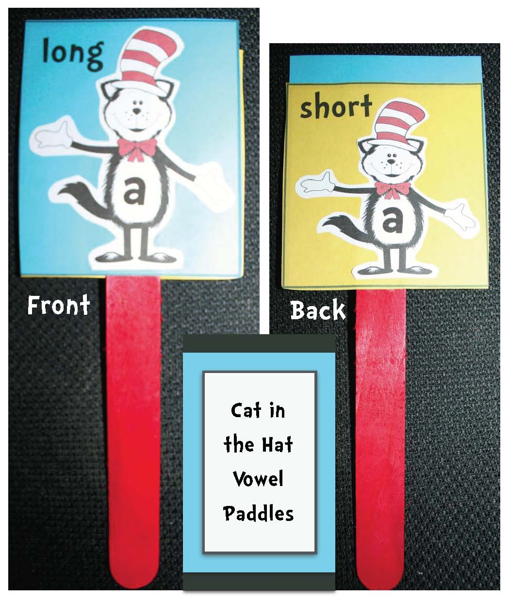 vowel activities, cat in the hat activities, seuss activities, seuss crafts, daily 5 word work, seuss word work, common core seuss, activities to go with seuss books, cat in the hat activities, whole group assessing, alphabet activities, alphabet games, alphabet assessments