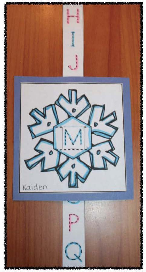 snowflake activities, snowflake crafts, alphabet activities, winter alphabet activities, letter art, letter crafts, snowflake poem, January writing prompts, snowflake writing prompts