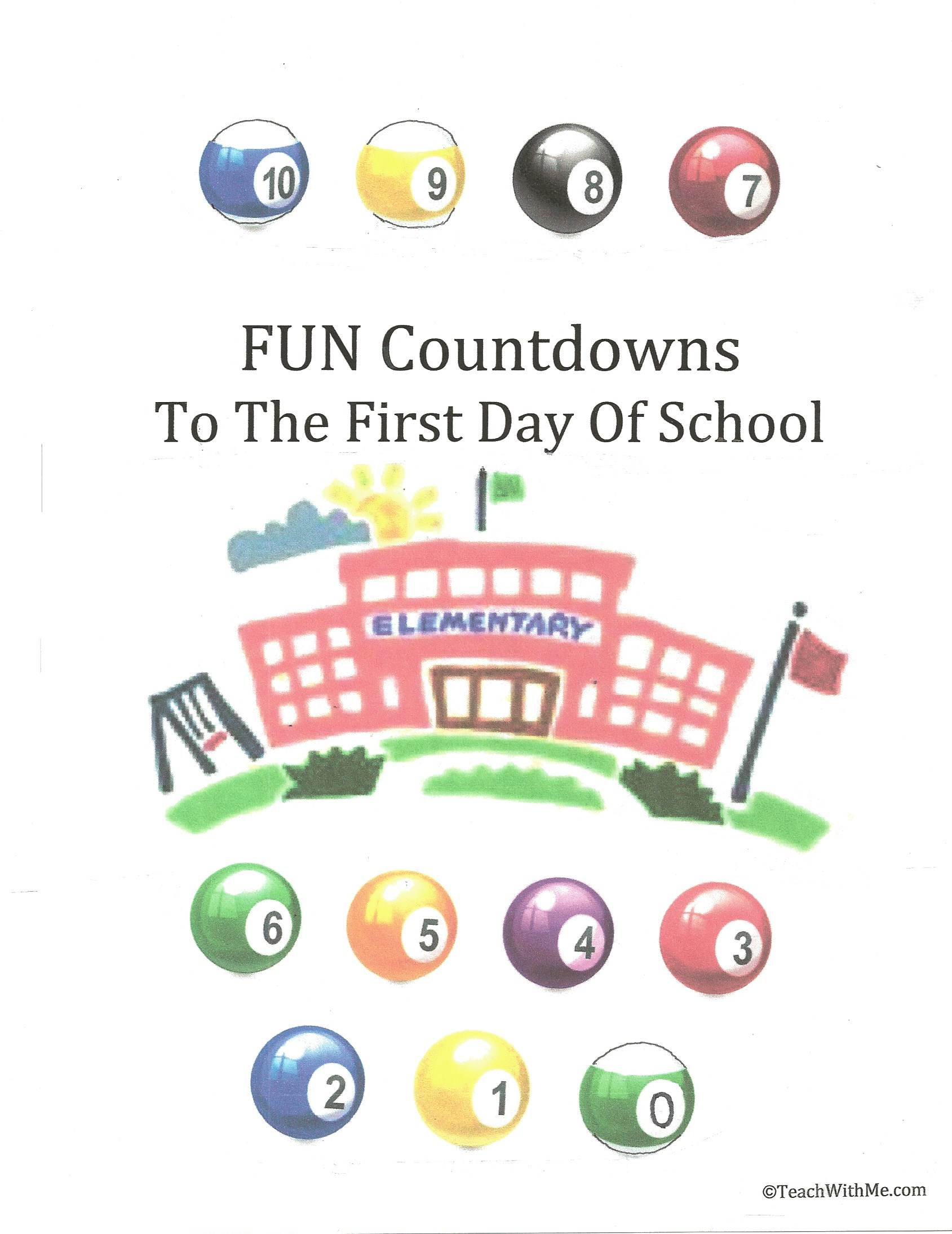 counting down to the first day of school, first day of school ideas, back to school ideas, ladybug art project, ladybug count down to the first day of school, paperchain countdown to the first day of school,