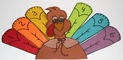 Turkey Feathers Game, November games, Thanksgiving games
