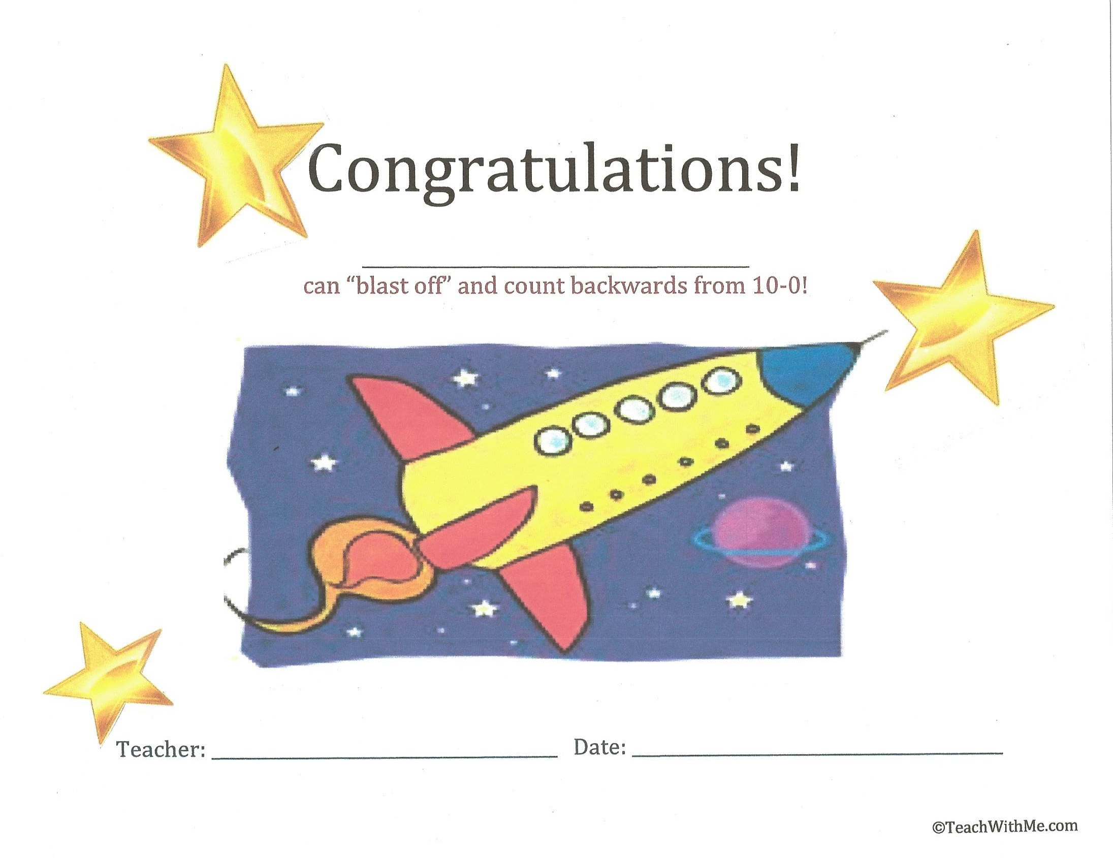 blast off certificate, counting backwards certificate, counting backwards ideas, counting backwards lessons, counting backwards booklet, counting backwards from 20 to 0, counting backwards from 10 to 0, blasting off ideas,