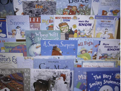 Good books for kids for winter, great winter books for preschool, kindergarten and first grade