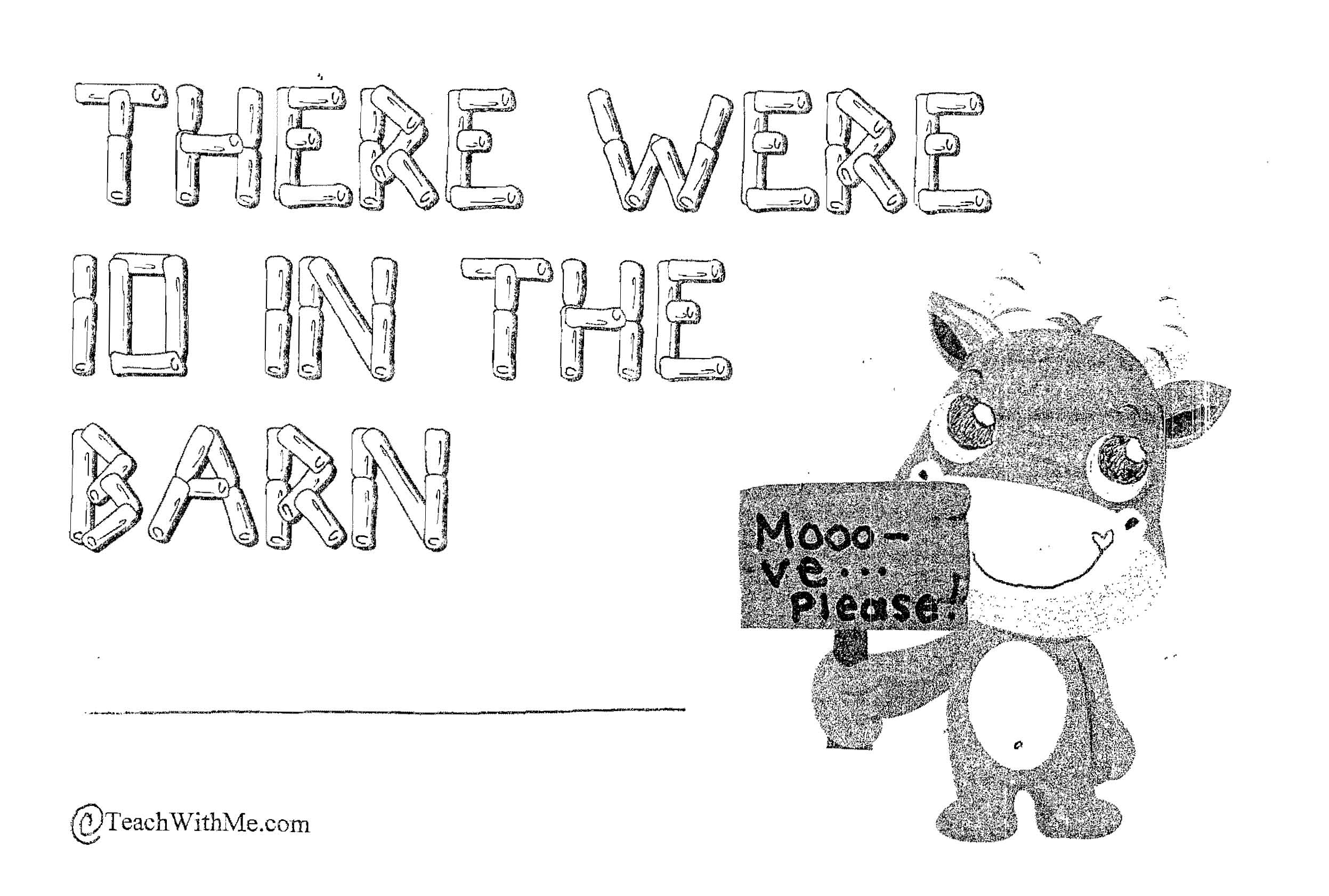 cow theme, farm theme, barnyard theme, addition activities, subtraction activities, counting activities, math booklet, counting booklet, subtraction booklet, addition booklet, animal booklet, farm booklet, easy reader booklet, farm animal lessons, farm animal ideas, farm animal lessons, counting lessons, additon lessons, subtraction lessons, math centers for early elementary, farm centers,