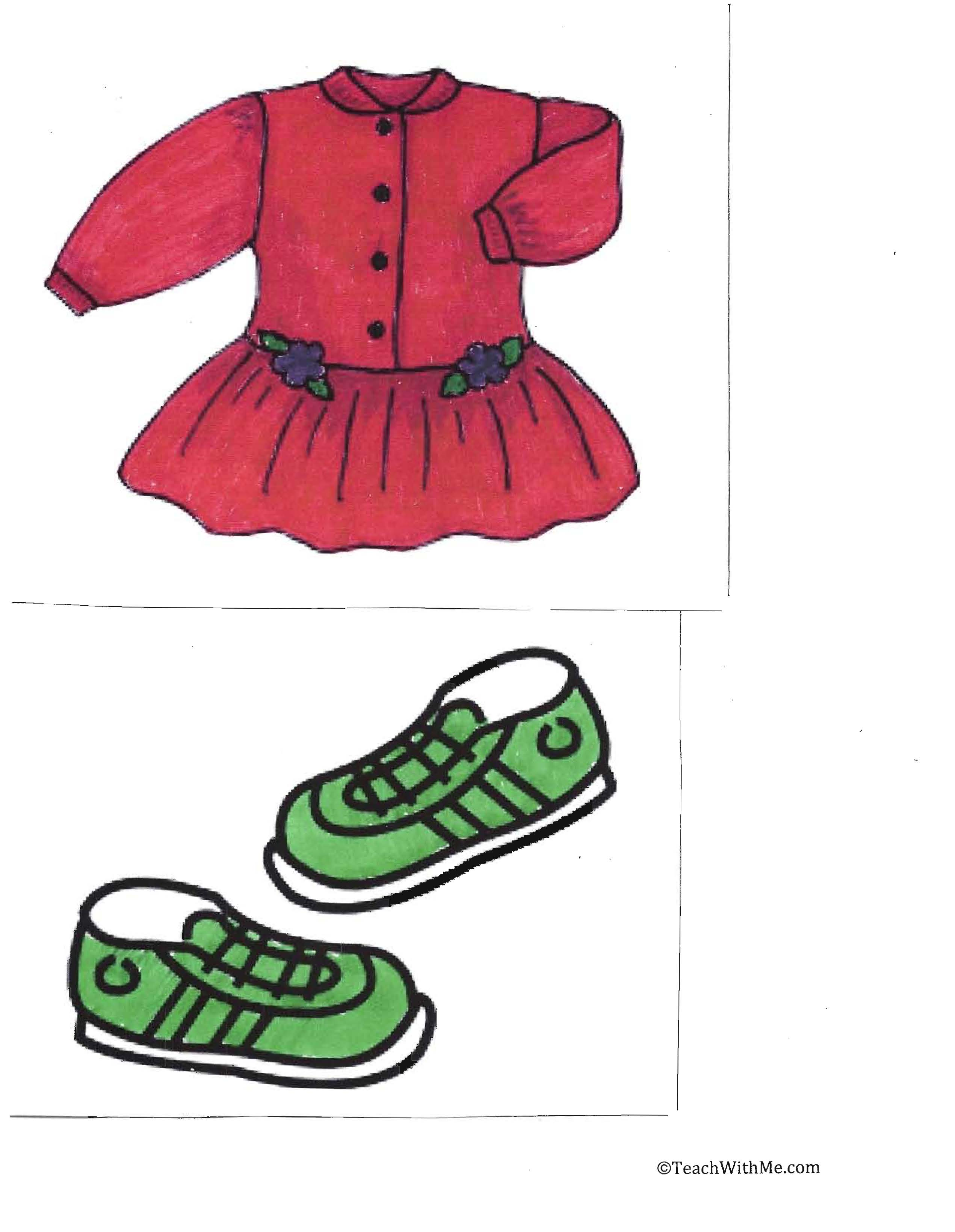 Mary wore a red dress, back to school ideas,