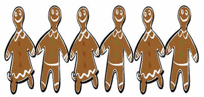 gingerbread cookies, cooking with kids, December recipes for kids