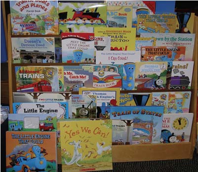 train books, the little engine that could, If you take a mouse to school ideas, if you give a mouse a cookie ideas, back to school books, dinosaur books  monkey books, free easy reader books, booklets to make,