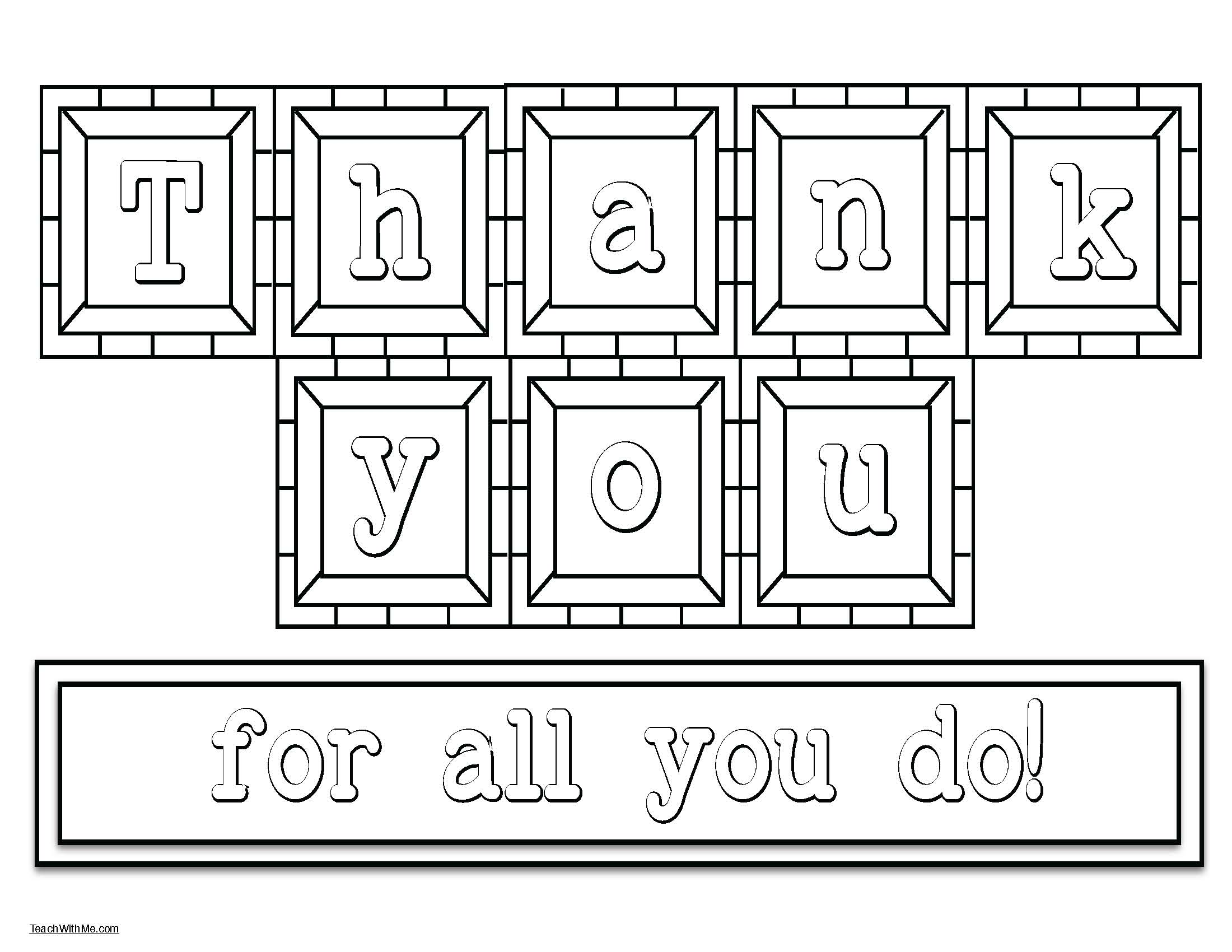 teacher appreciation ideas, teacher appreciation cards, letter tiles that spell out thank you, end of the year activities, end of the year crafts, thank you cards, end of the year thank you cards, end of the year teacher appreciation, bus driver card,