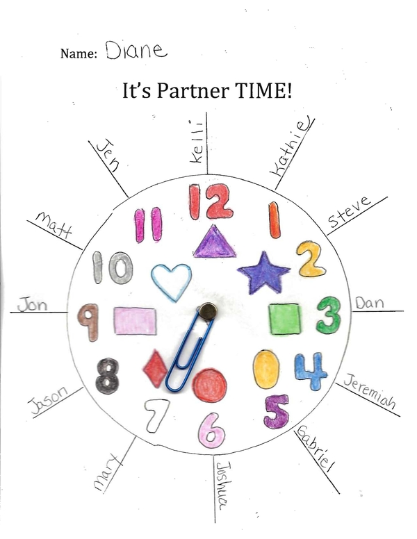 It's Partner Time Partner Clock